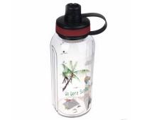 Бутылка спортивная Thermo LP83-7422 белая ,1500 мл
