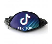 Сумка Бананка на пояс Cappuccino Toys Tik Tok Тик Ток 1533-44-KZ фиолетовая