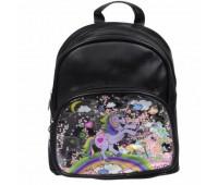 Рюкзак детский для девочек Cappuccino Toys CT83-2960 черный