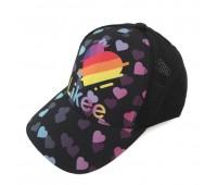 Кепка LIKEE Лайк детская Gear Bag черная сетка (L-bl2)