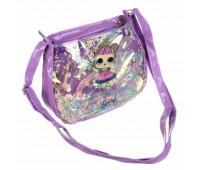 Сумка детская для девочек с LOL Cappuccino Toys CT82-105 фиолетовая