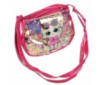 Сумка детская для девочек с LOL Cappuccino Toys CT83-416 темно-розовый
