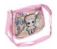 Сумка детская для девочек с LOL Cappuccino Toys CT83-409 розовый