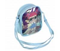 Сумка детская для девочек с LOL Cappuccino Toys CT83-362 голубая