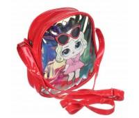 Сумка детская для девочек с LOL Cappuccino Toys CT82-068 красная