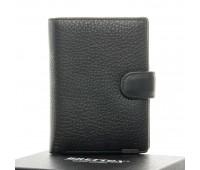 Кошелек BRETTON 208-3104-5 мужской кожаный черный