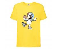 Футболка  Спанч Боб 27 (Sponge Bob) желтая