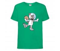 Футболка  Спанч Боб 27 (Sponge Bob) зеленая