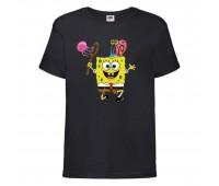 Футболка  Спанч Боб 28 (Sponge Bob) черная