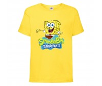 Футболка  Спанч Боб 29 (Sponge Bob) желтая