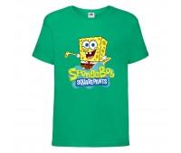Футболка  Спанч Боб 29 (Sponge Bob) зеленая