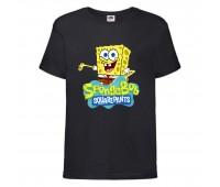Футболка  Спанч Боб 29 (Sponge Bob) черная