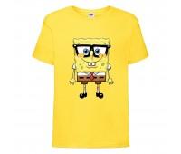 Футболка  Спанч Боб 30 (Sponge Bob) желтая