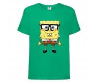 Футболка  Спанч Боб 30 (Sponge Bob) зеленая