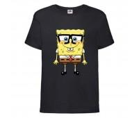 Футболка  Спанч Боб 30 (Sponge Bob) черная