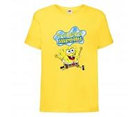 Футболка  Спанч Боб 31 (Sponge Bob) желтая