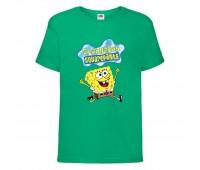 Футболка  Спанч Боб 31 (Sponge Bob) зеленая