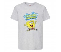 Футболка  Спанч Боб 31 (Sponge Bob) серая