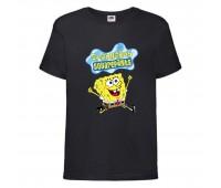 Футболка  Спанч Боб 31 (Sponge Bob) черная