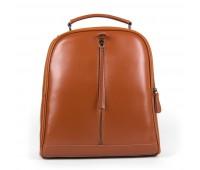 Рюкзак женский кожаный Alex Rai 9-01 8694-3 коричневый
