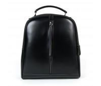 Рюкзак женский кожаный Alex Rai 9-01 8694-3 черный