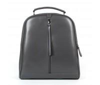 Рюкзак женский кожаный Alex Rai 9-01 8694-3 серый