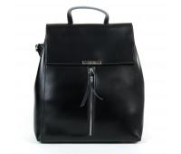 Рюкзак женский кожаный Alex Rai 9-01 373 черный
