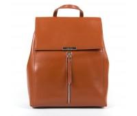 Рюкзак женский кожаный Alex Rai 9-01 373 коричневый