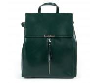 Рюкзак женский кожаный Alex Rai 9-01 373 зеленый