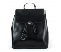 Рюкзак женский кожаный Alex Rai 9-01 360 черный