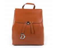 Рюкзак женский кожаный Alex Rai 9-01 360 коричневый