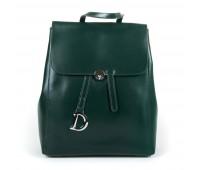 Рюкзак женский кожаный Alex Rai 9-01 360 зеленый