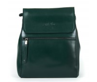 Рюкзак женский кожаный Alex Rai 9-01 1005 зеленый