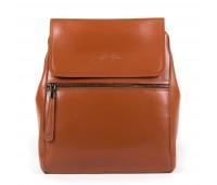 Рюкзак женский кожаный Alex Rai 9-01 1005 коричневый