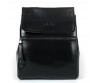 Рюкзак женский кожаный Alex Rai 9-01 1005 черный