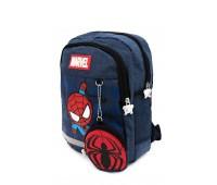 Рюкзак Aimina Spiderman Человек Паук  5208 дошкольный с кошельком темно-синий (A-Sm03-navy)