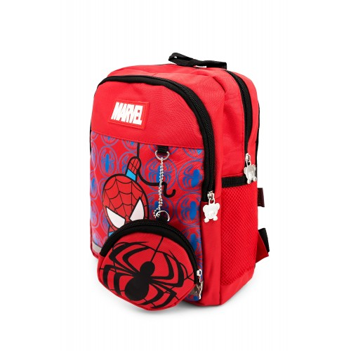 Рюкзак Aimina Spiderman Человек Паук  5208 дошкольный с кошельком красный (A-Sm05-red)