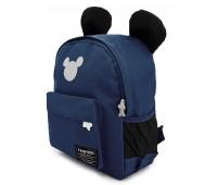 Рюкзак Aimina Mickey mouse Микки Маус 701 дошкольный темно-синий (A-MM02-navy)