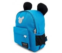 Рюкзак Aimina Mickey mouse Микки Маус 701 дошкольный голубой (A-MM03-L-blue)