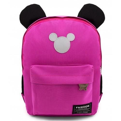 Рюкзак Aimina Mickey mouse Микки Маус 701 дошкольный розовый (A-MM04-pink)