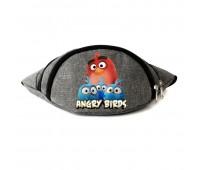 Сумка Бананка Энгри Бердс на пояс Cappuccino Toys Angry Birds RED серая