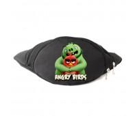 Сумка Бананка Энгри Бердс на пояс Cappuccino Toys Angry Birds Red/Pig черная