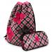 Рюкзак-ранец DeLune 9-113 школьный ортопедический с 3D изображением черно-розовый (DL-9-113)