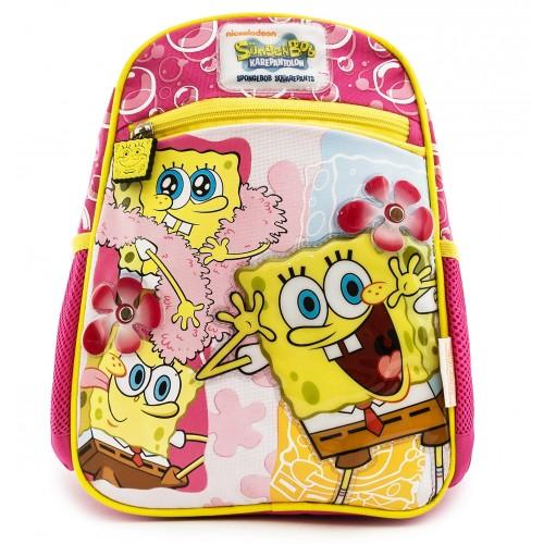 Рюкзак Hakancanta дошкольный 24369 Спанч Боб Spongebob розовый (SB24369)