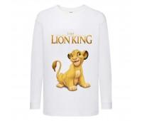 Лонгслив реглан Король Лев 2 (Lion King) белый (LK wh 002) 152 см