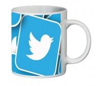 Кружка Твиттер Twitter SuperCup (чашка-SC-CC016)