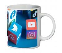 Кружка Социальные Сети SuperCup (чашка-SC-CC004-2)