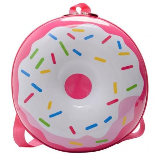 Рюкзак дошкольный Cappuccino Toys Пончик 3D-7743 круглый розовый