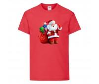 Футболка детская Новый Год (New Year) красная (0003-red) размер 104 см