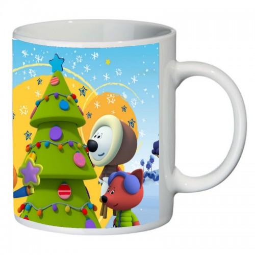 Кружка Новогодняя Мимишки SuperCup (чашка-SC-HN-044)